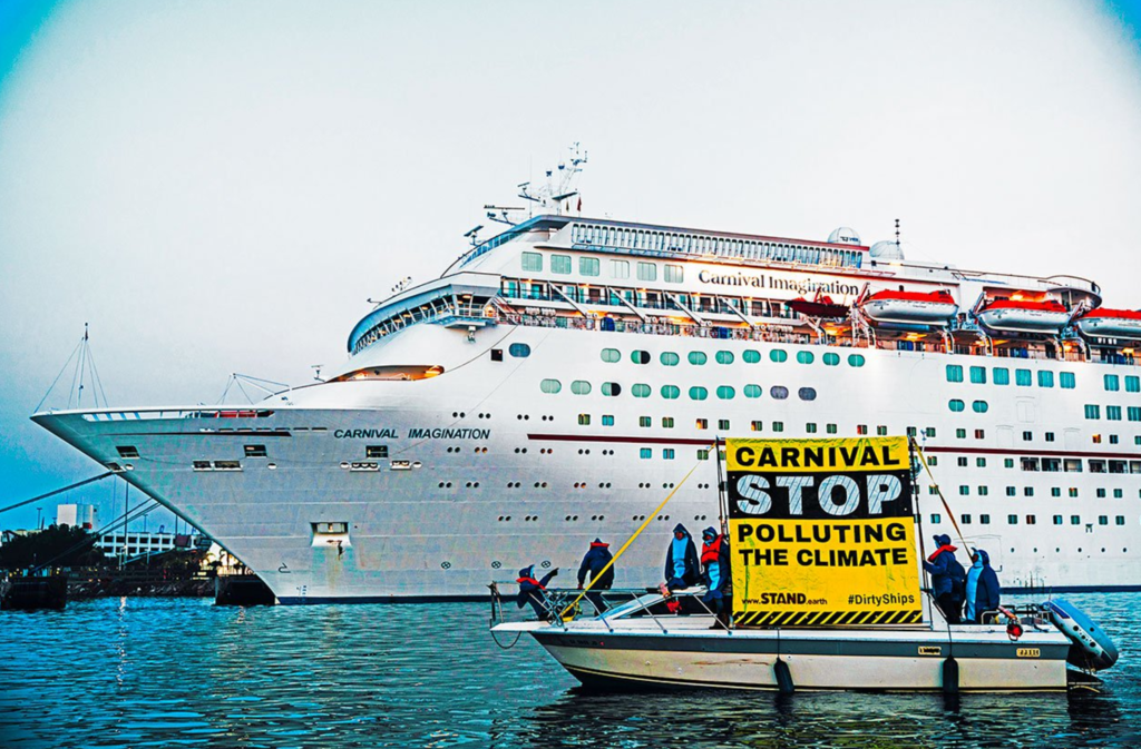 Carnival Stop Polluting The Climate - AIR POLLUTION SHIP RANKING 2017